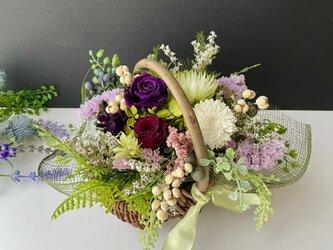 Flower basket arrangeの画像