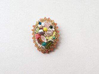 Flower garden ブローチ no.2の画像