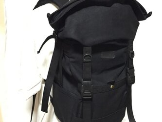 STAG backpack BKの画像
