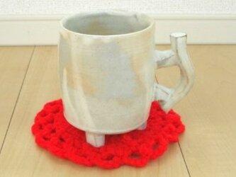 粉引きコーヒーカップ Bの画像