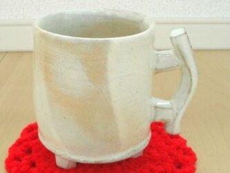 粉引きティーカップ Dの画像