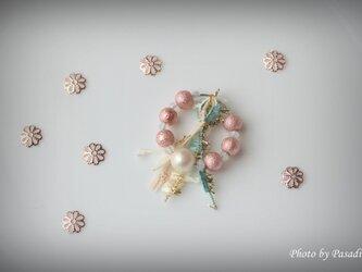 【限定セール】ピンク満載 片耳用ピアスの画像
