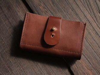 馬革カードケース  / BROWN(茶色)の画像