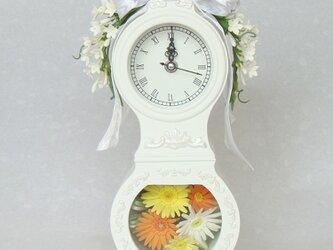 花時計 ガーベラとジャスミンの画像