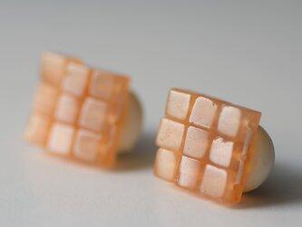 江戸の小袖™シリーズ(天然石・アベンチュリン)  イヤリングの画像