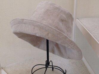 オーダー ナチュラルスタンダードリネンの帽子 50〜65の画像