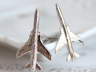【送料無料】飛行機カフス M-56の画像