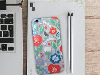 iPhoneハードクリアケース【Flowers】の画像