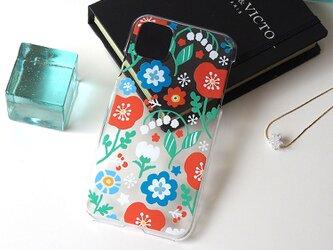iPhonePlusハードクリアケース【Flowers】の画像