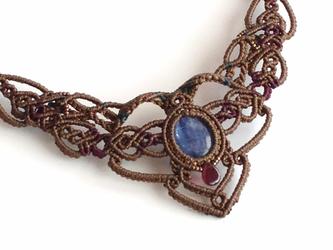 kyanite / decollete necklaceの画像