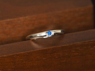 HEX Ring:HEX銀925クリスタルリング(御影宝飾工房)の画像