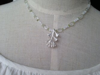 ぺんぺん草(中)ネックレスの画像
