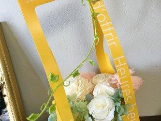 スレンダーボックスの母の日アレンジ★プリザ・ドライ★の画像