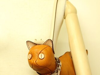猫ショルダー バッグ Kitten Shoulder マスタードの画像