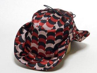 レトロプリントテンガロンハット-レッド(PS0395-Red)の画像
