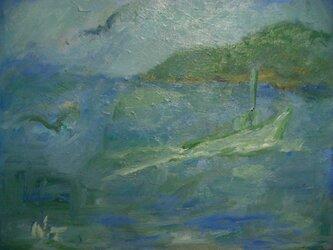 ある漁村の風景 の画像