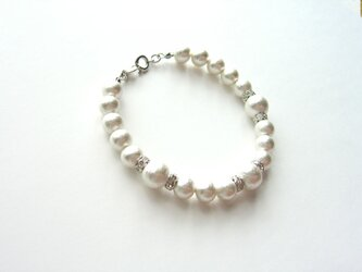 Cotton pearl beauty Braceletの画像