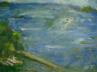 漁村の朝の画像