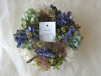 紫陽花のwreath.blue gardenの画像