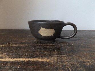 どうぶつのスープカップ(ぶた)の画像