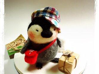 nanoko様専用 ペンギンの郵便屋さんの画像
