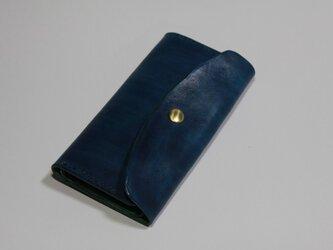 栃木レザー iphone6 / 7 / 8 / X ケース (9色) 両開き カード有の画像