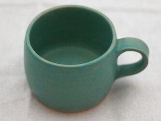 【SOLD OUT】陶器:トルコブルー(マット)のマグの画像