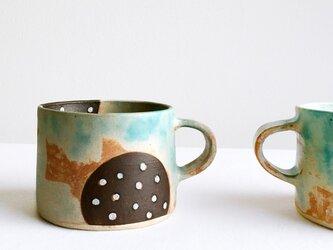 そら色とみず玉のカップの画像