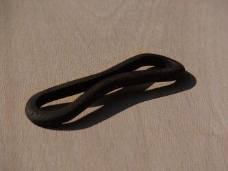 イヤホンホルダー(小・黒)の画像