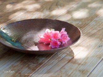 菓子皿   伊羅保釉の画像