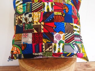 AFRICAN JAXAS CUSHION COVER 005の画像