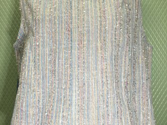 new!【夏物】フリンジのノースリーブ<送料込>の画像