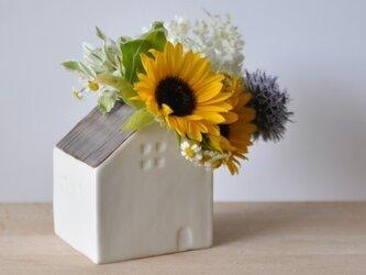 花の咲く家(花瓶)【入荷しました】の画像