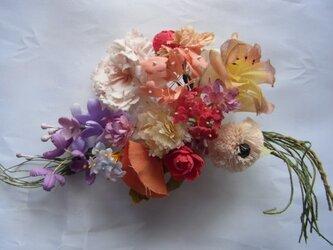 野の花ブーケコサージュの画像