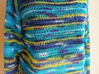 【製図】「中長編みと細編みで編む簡単ニット」の画像