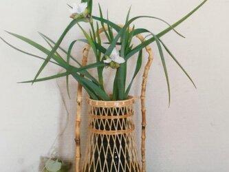 竹根曲がり手花籠の画像