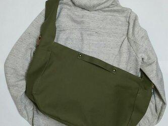 受注製作 倉敷帆布(11号薄地)3wayトートバッグの画像