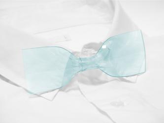 透明超ネクタイ(Heavenly Blue:ヘヴンリーブルー)の画像