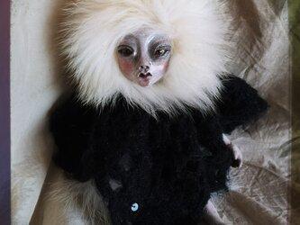 【訳あり】クロスボディ人形(白髪)の画像