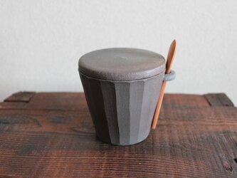 炭化焼成 シュガーポット の画像
