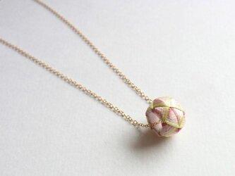 加賀ゆびぬきネックレス『葉桜』の画像