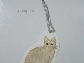 しおり〈cat①-3〉の画像
