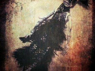 箱入り骸骨(マスク&ヅラ付き)の画像