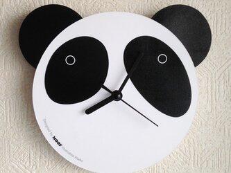 Wall Clock type2 _Pandaの画像