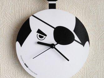 Wall Clock type2 _Samuraiの画像