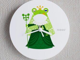 Wall Clock type3 _Frog Queenの画像
