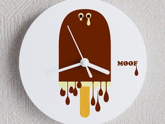 Wall Clock type3 _Melting Choco Iceの画像