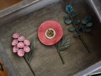 受注生産* 【空想植物】Aminne コサージュの画像