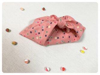 包みあずま(金平糖 ピンク)小の画像