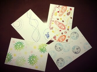 ポストカード 四季の画像